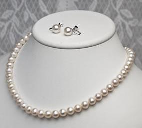 淡水真珠2点セットです。