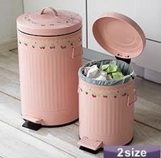 フタつきのゴミ箱です