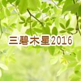 三碧木星2016年運勢です。