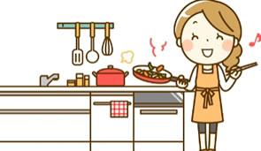 きれいなキッチンです。