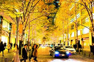 12月の夜景です。